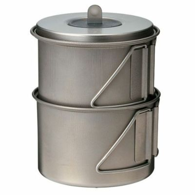スノーピーク ソロセットチタン SCS-004TR Mini Solo Cook Set Titanium